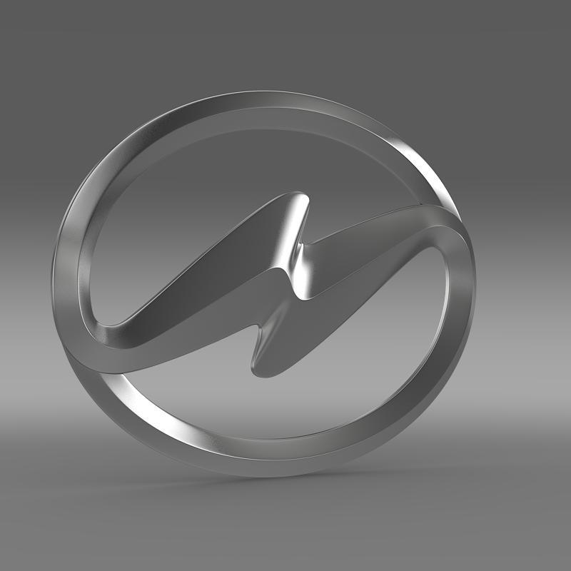 higer logo 3d model 3ds max fbx c4d lwo ma mb hrc xsi obj 162746