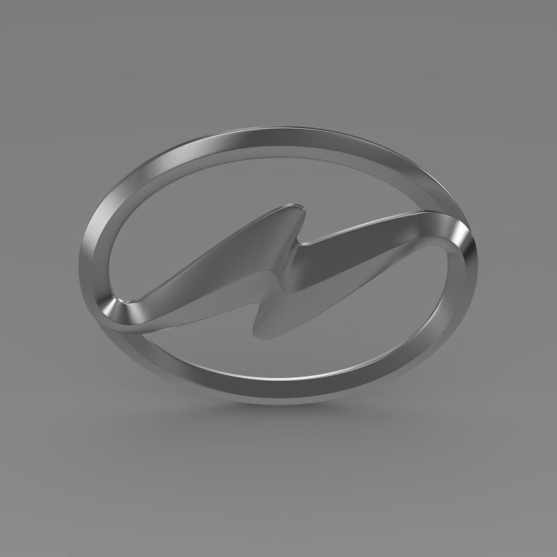 higer logo 3d model 3ds max fbx c4d lwo ma mb hrc xsi obj 162748