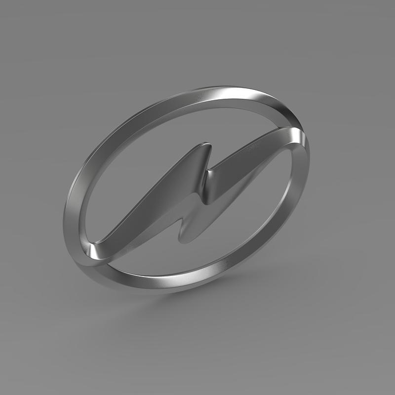 higer logo 3d model 3ds max fbx c4d lwo ma mb hrc xsi obj 162749