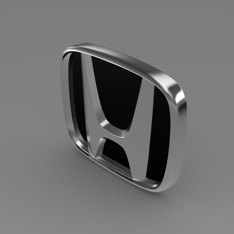 honda company logo 3d model 3ds max dwg fbx lwo ma mb hrc xsi obj 149466