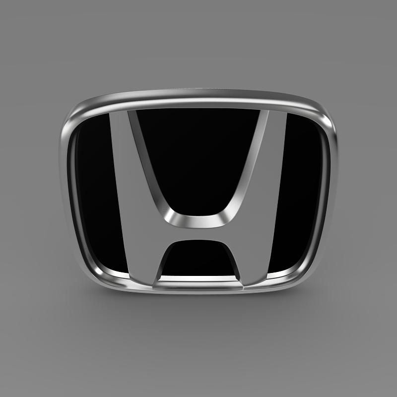honda company logo 3d model 3ds max dwg fbx lwo ma mb hrc xsi obj 149467