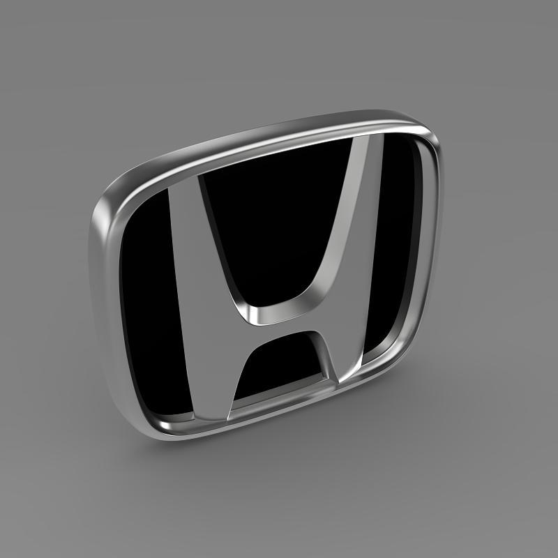 honda company logo 3d model 3ds max dwg fbx lwo ma mb hrc xsi obj 149468