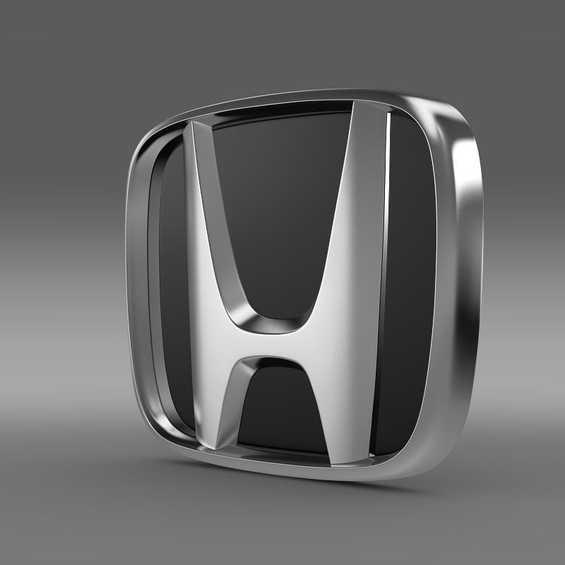 Honda Company Logo FlatPyramid 3d Model 3ds Max Dwg Fbx Lwo Lws Lw Ma Mb Obj