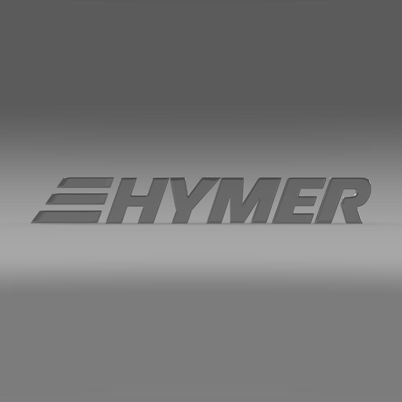 hymer logo 3d model 3ds max fbx c4d lwo ma mb hrc xsi obj 162755