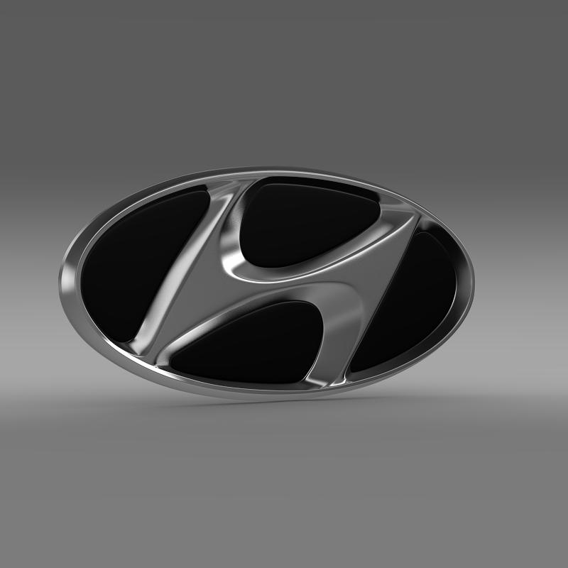 hyundai firmas logo 3d modelis 3ds max fbx c4d lwo ma mb hrc xsi obj 149472