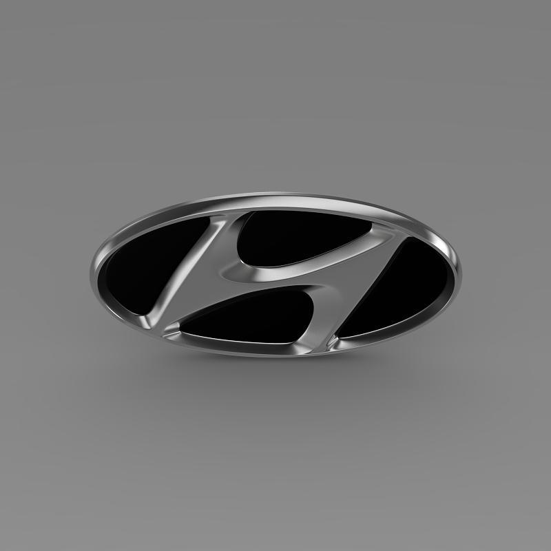 hyundai firmas logo 3d modelis 3ds max fbx c4d lwo ma mb hrc xsi obj 149474