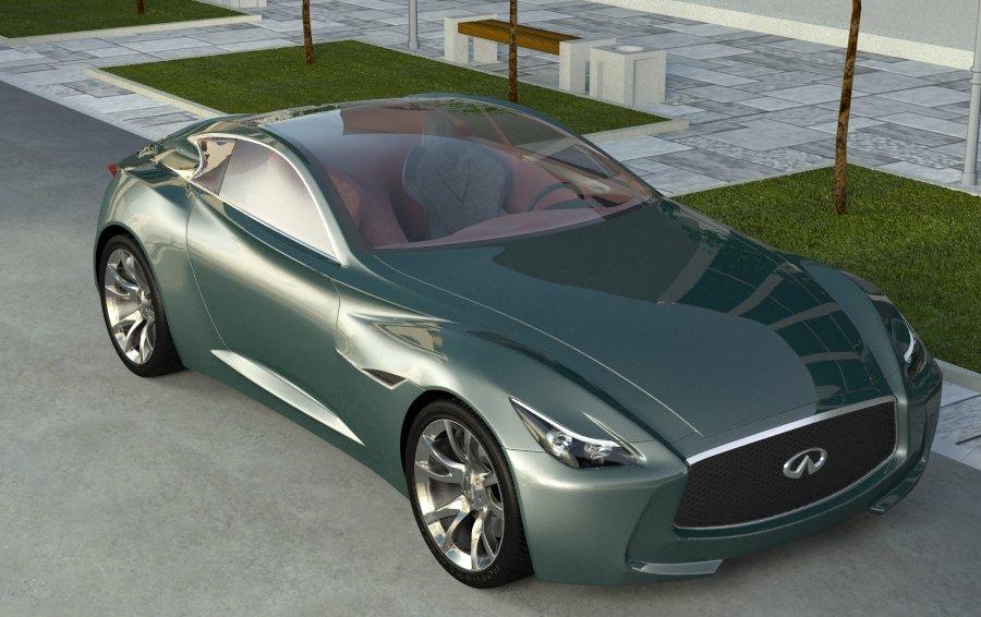infiniti essence 3d model 3ds max 128398