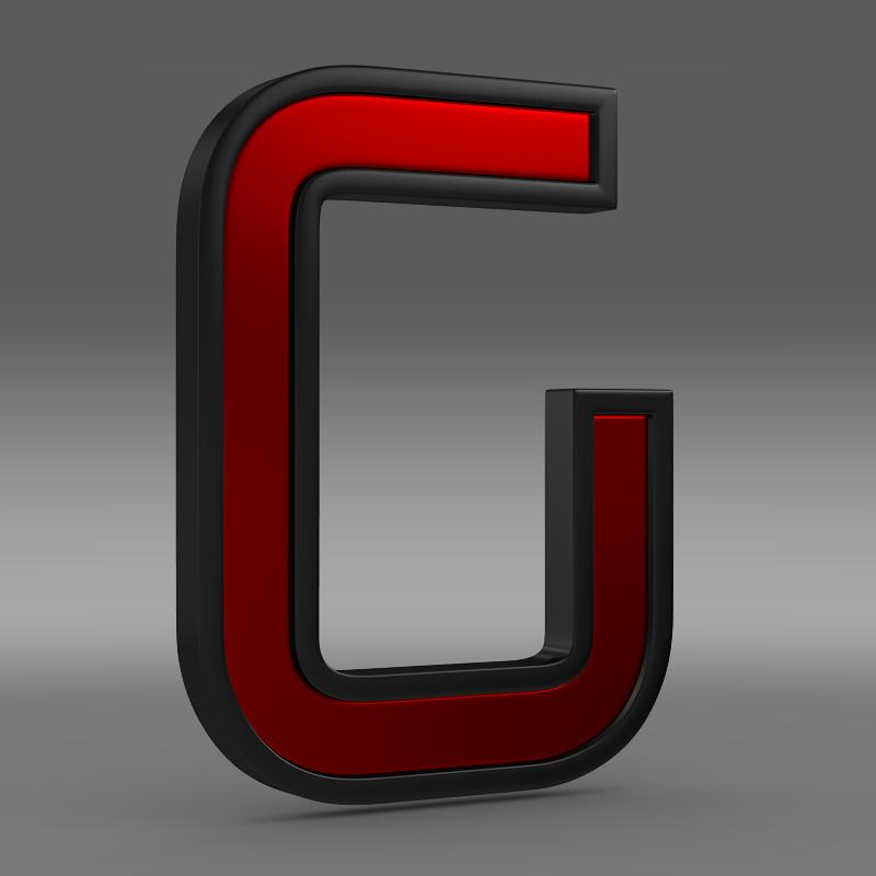 italdesign giugiaro logo 3d model 3ds max fbx c4d lwo ma mb hrc xsi obj 155282