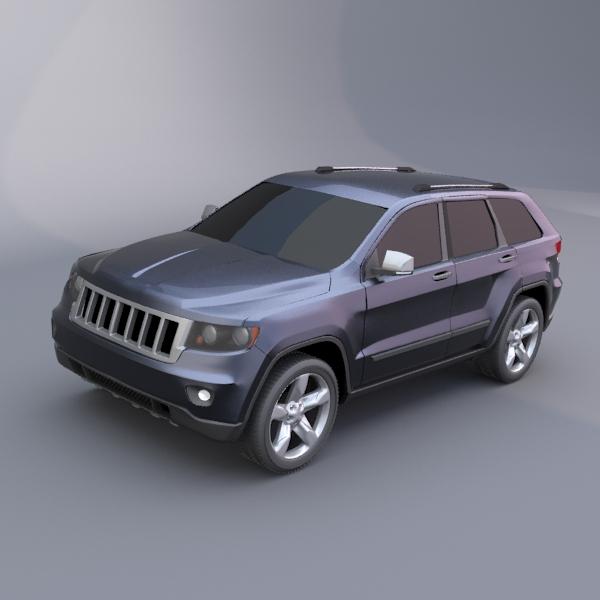 jeep grand cherokee 2011 3d modelis 3ds fbx maisījums lwo obj 119476