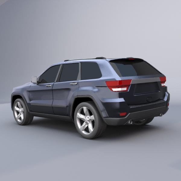 jeep grand cherokee 2011 3d model 3ds fbx blend lwo obj 119477