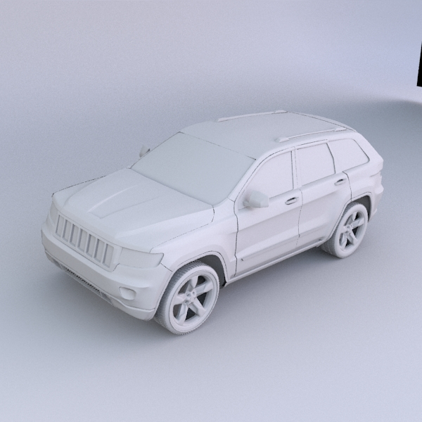 jeep grand cherokee 2011 3d model 3ds fbx blend lwo obj 119483