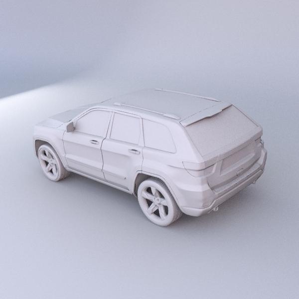 jeep grand cherokee 2011 3d model 3ds fbx blend lwo obj 119484