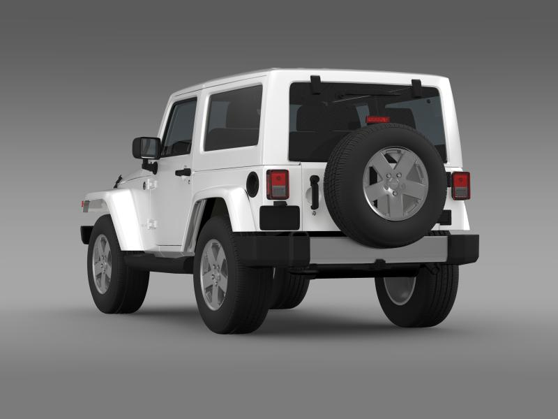 jeep wrangler 2011 3d model 3ds max fbx c4d lwo ma mb hrc xsi obj 160139