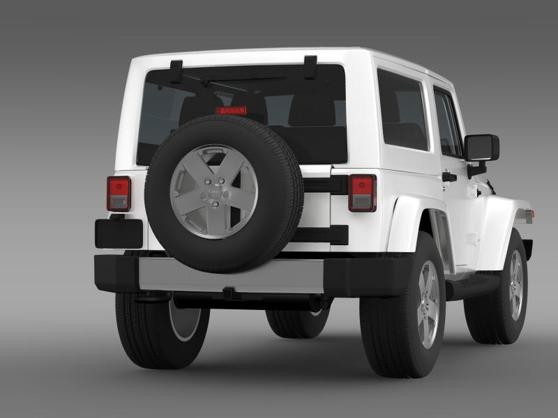 jeep wrangler 2011 3d model 3ds max fbx c4d lwo ma mb hrc xsi obj 160140