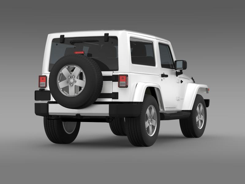 jeep wrangler 2011 3d model 3ds max fbx c4d lwo ma mb hrc xsi obj 160141