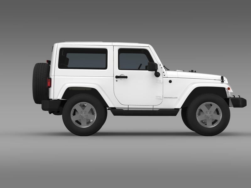 jeep wrangler 2011 3d model 3ds max fbx c4d lwo ma mb hrc xsi obj 160143