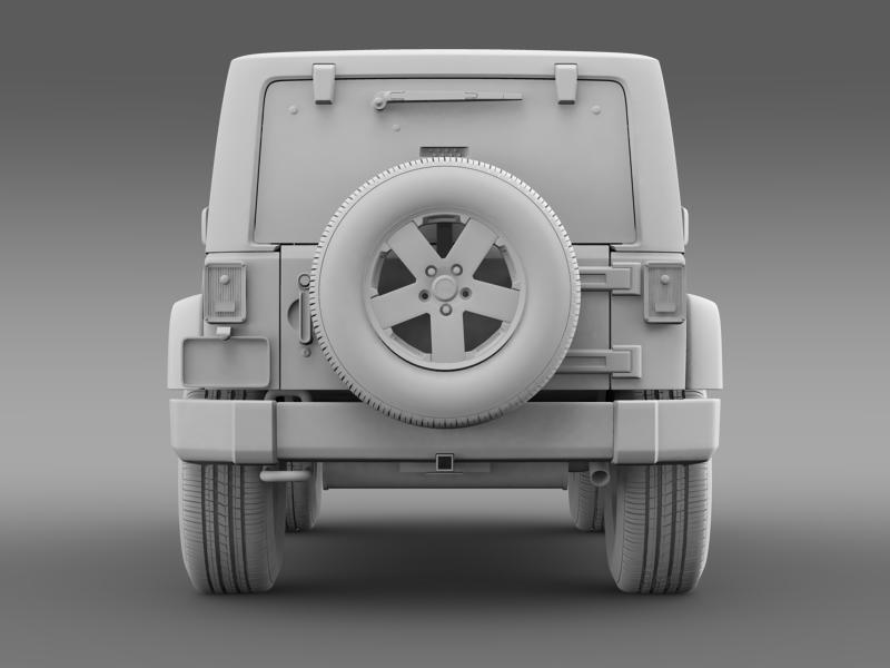 jeep wrangler 2011 3d model 3ds max fbx c4d lwo ma mb hrc xsi obj 160147