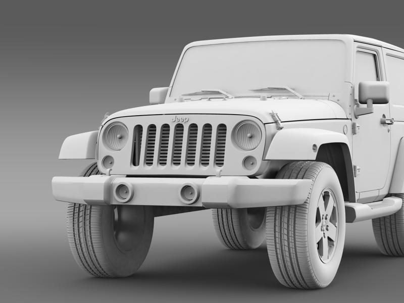 jeep wrangler 2011 3d model 3ds max fbx c4d lwo ma mb hrc xsi obj 160149