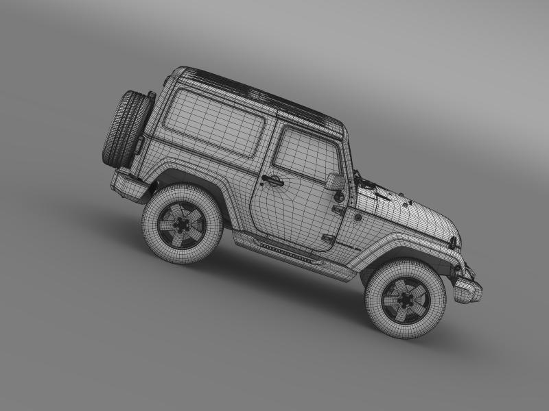 jeep wrangler 2011 3d model 3ds max fbx c4d lwo ma mb hrc xsi obj 160151