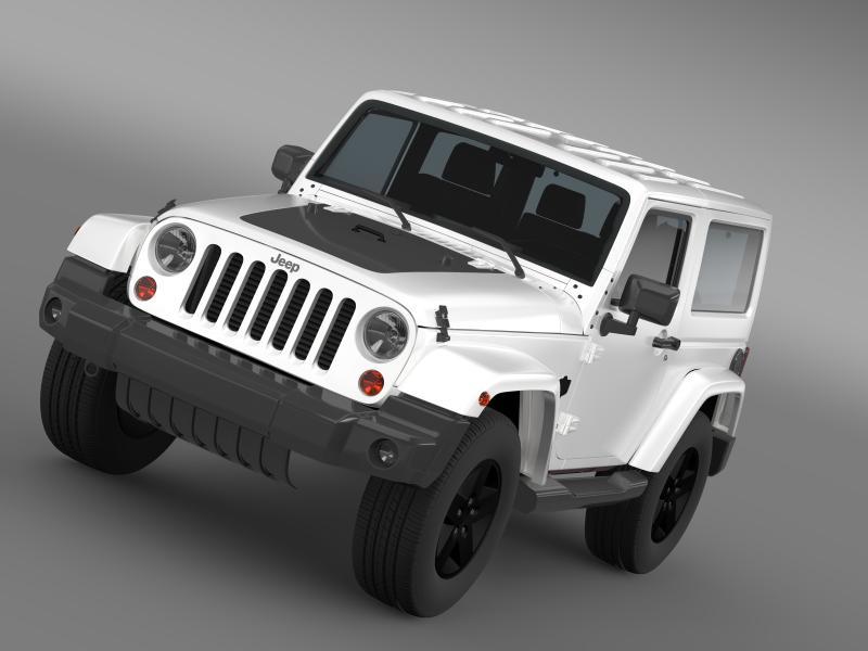 jeep wrangler arctic 2012 3d model 3ds max fbx c4d lwo ma mb hrc xsi obj 160431
