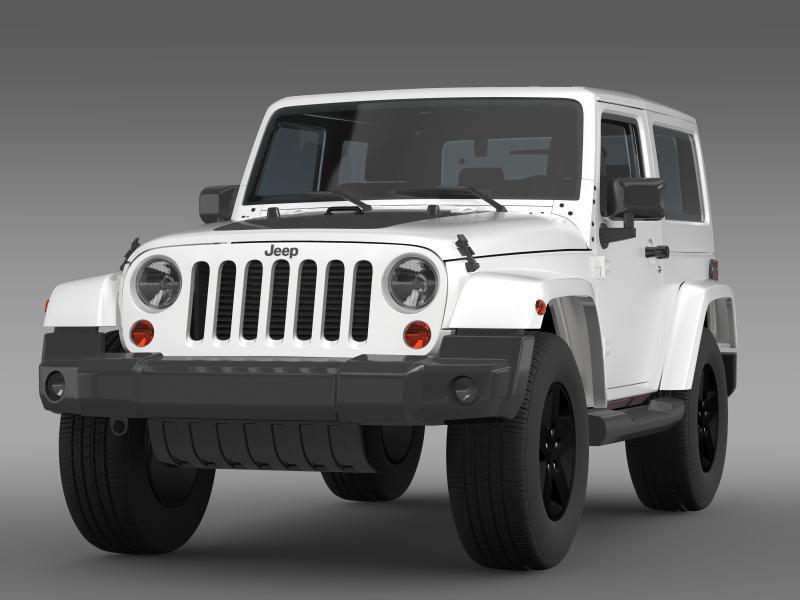 jeep wrangler arctic 2012 3d model 3ds max fbx c4d lwo ma mb hrc xsi obj 160433