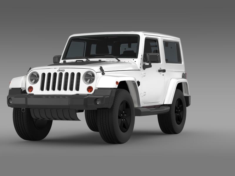 jeep wrangler arctic 2012 3d model 3ds max fbx c4d lwo ma mb hrc xsi obj 160434
