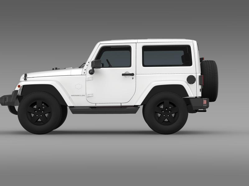 jeep wrangler arctic 2012 3d model 3ds max fbx c4d lwo ma mb hrc xsi obj 160436