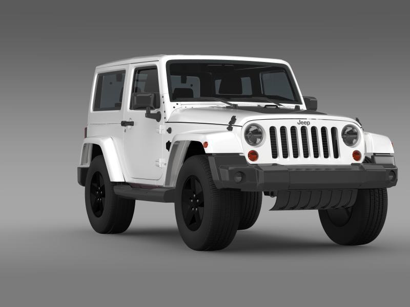 jeep wrangler arctic 2012 3d model 3ds max fbx c4d lwo ma mb hrc xsi obj 160444