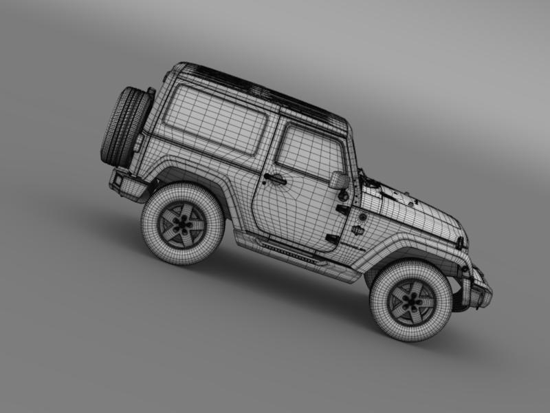 jeep wrangler arctic 2012 3d model 3ds max fbx c4d lwo ma mb hrc xsi obj 160450