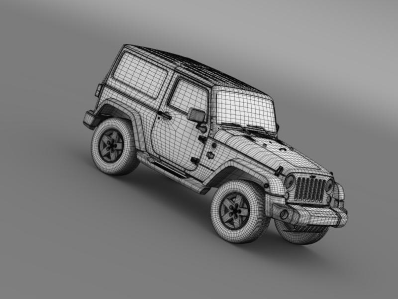 jeep wrangler arctic 2012 3d model 3ds max fbx c4d lwo ma mb hrc xsi obj 160451