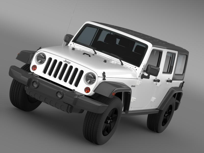 jeep wrangler call of duty black ops 3d model 3ds max fbx c4d lwo ma mb hrc xsi obj 160452
