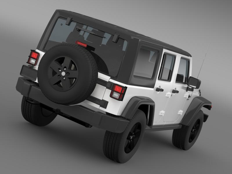 jeep wrangler call of duty black ops 3d model 3ds max fbx c4d lwo ma mb hrc xsi obj 160453
