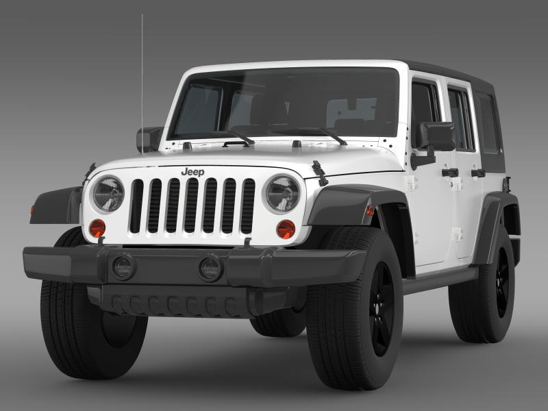 jeep wrangler call of duty black ops 3d model 3ds max fbx c4d lwo ma mb hrc xsi obj 160454