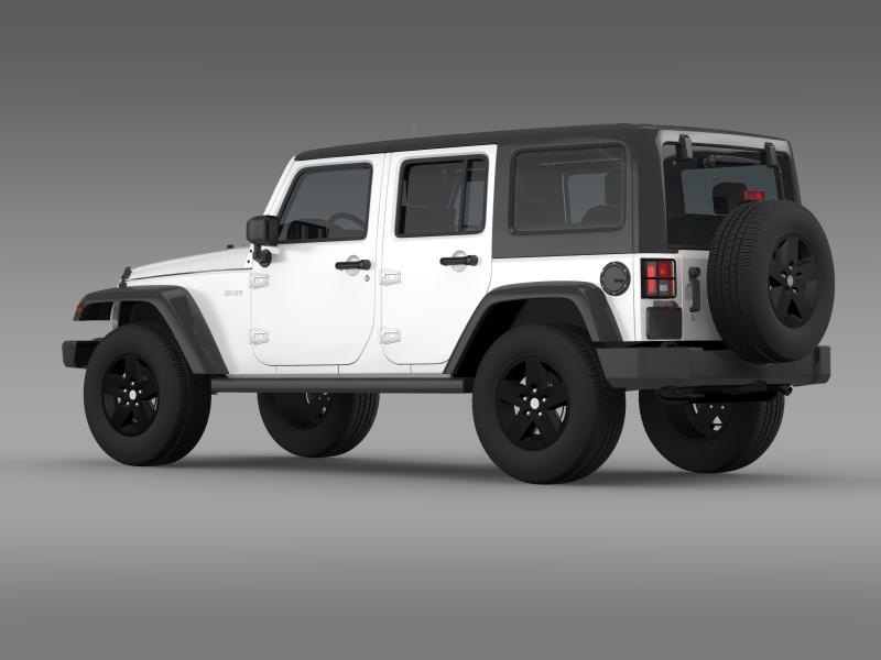 jeep wrangler call of duty black ops 3d model 3ds max fbx c4d lwo ma mb hrc xsi obj 160458