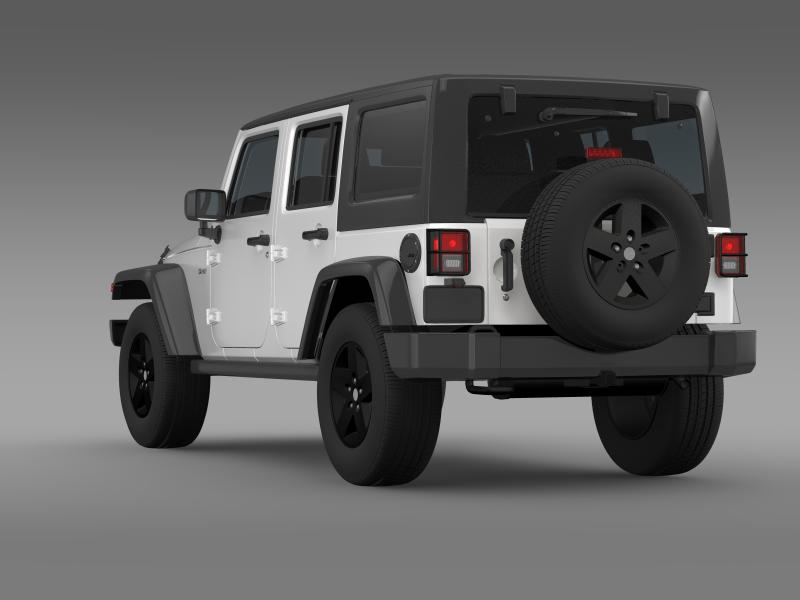 jeep wrangler call of duty black ops 3d model 3ds max fbx c4d lwo ma mb hrc xsi obj 160459