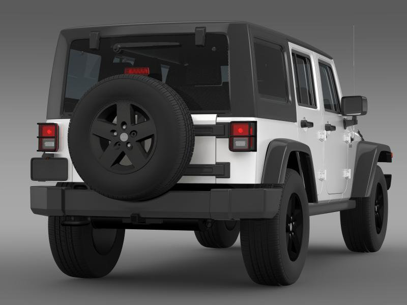 jeep wrangler call of duty black ops 3d model 3ds max fbx c4d lwo ma mb hrc xsi obj 160460