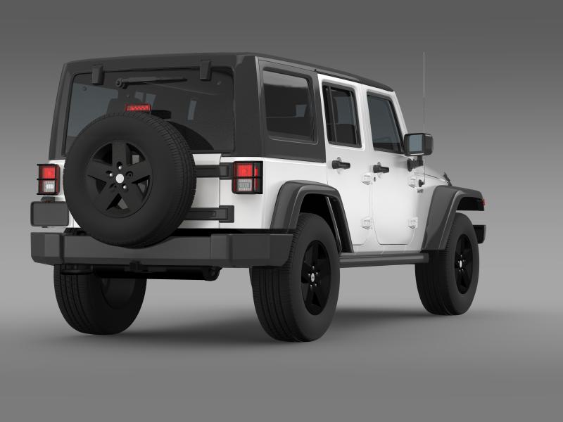 jeep wrangler call of duty black ops 3d model 3ds max fbx c4d lwo ma mb hrc xsi obj 160461