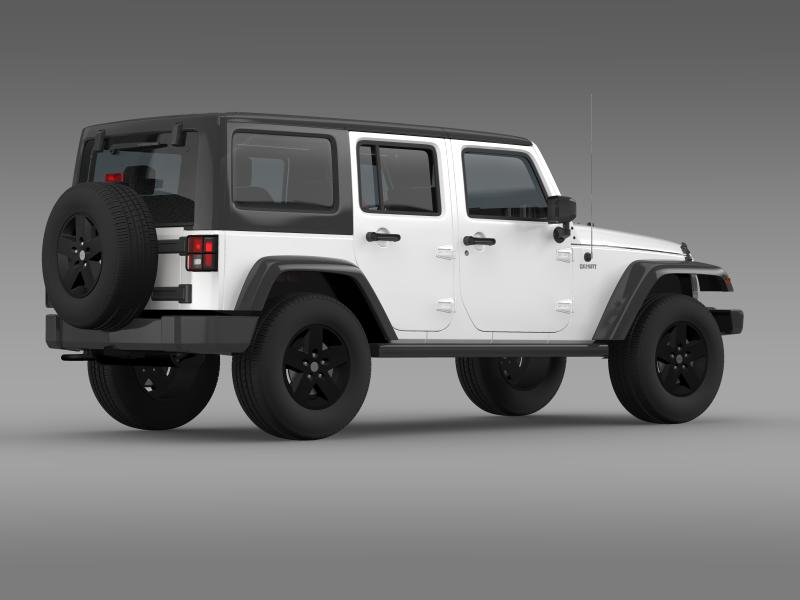 jeep wrangler call of duty black ops 3d model 3ds max fbx c4d lwo ma mb hrc xsi obj 160462