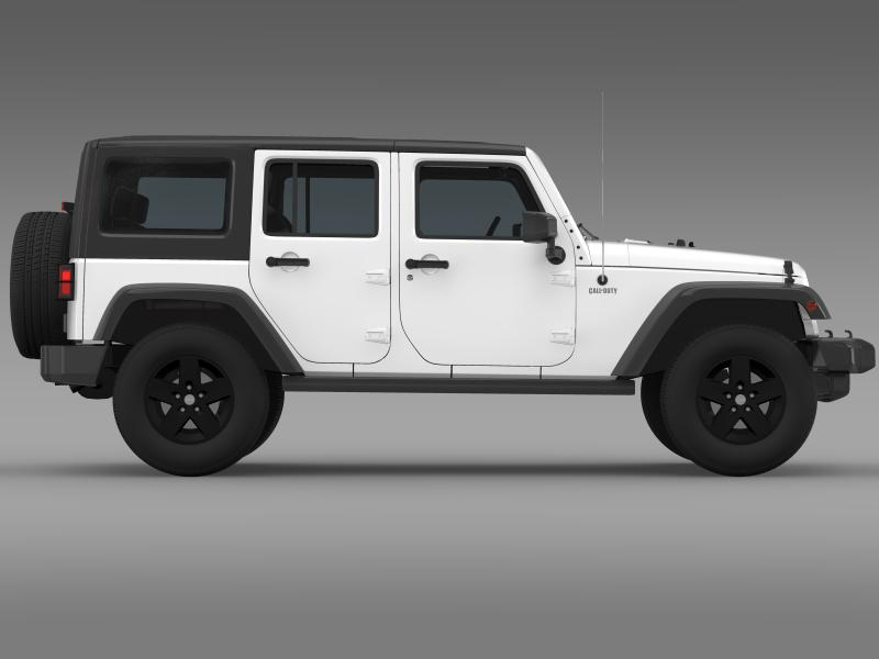 jeep wrangler call of duty black ops 3d model 3ds max fbx c4d lwo ma mb hrc xsi obj 160463