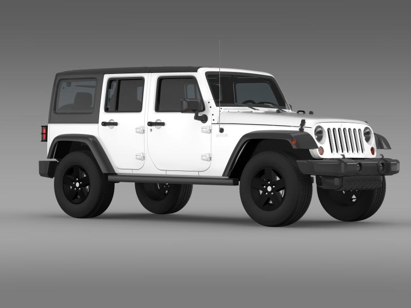 jeep wrangler call of duty black ops 3d model 3ds max fbx c4d lwo ma mb hrc xsi obj 160464