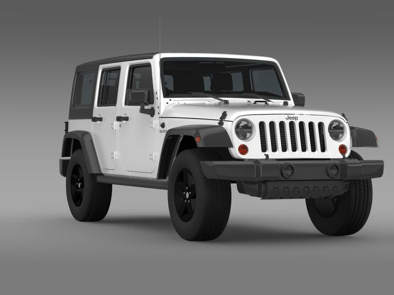jeep wrangler call of duty black ops 3d model 3ds max fbx c4d lwo ma mb hrc xsi obj 160465