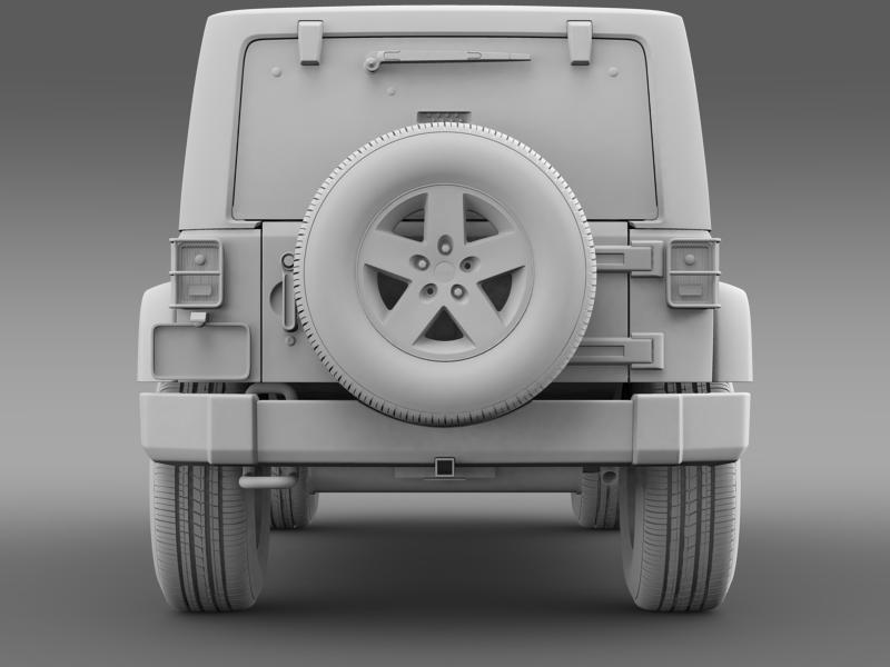 jeep wrangler call of duty black ops 3d model 3ds max fbx c4d lwo ma mb hrc xsi obj 160466