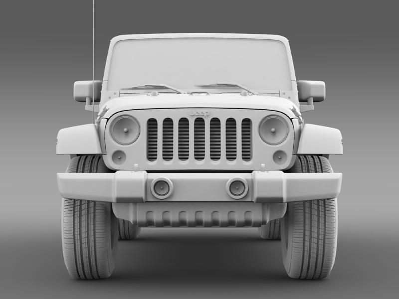 jeep wrangler call of duty black ops 3d model 3ds max fbx c4d lwo ma mb hrc xsi obj 160467