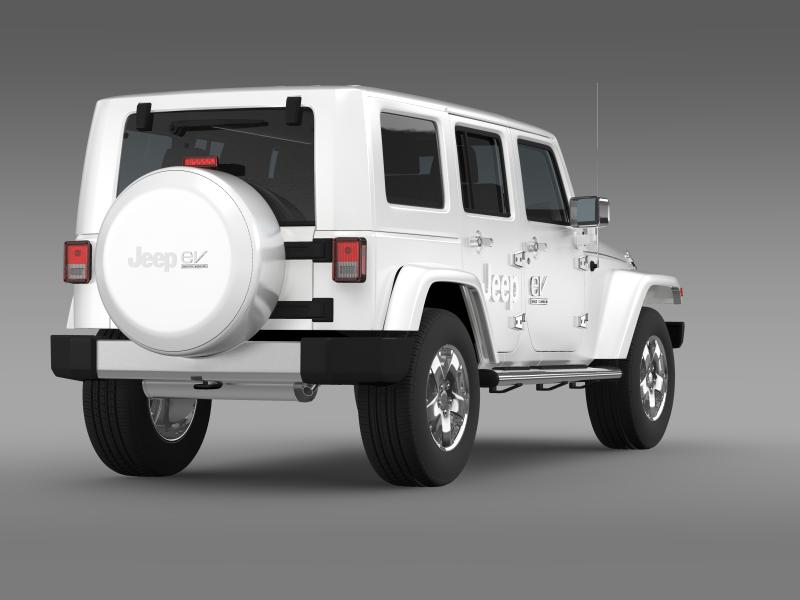 jeep wrangler electric vehicle concept 3d model 3ds max fbx c4d lwo ma mb hrc xsi obj 160162