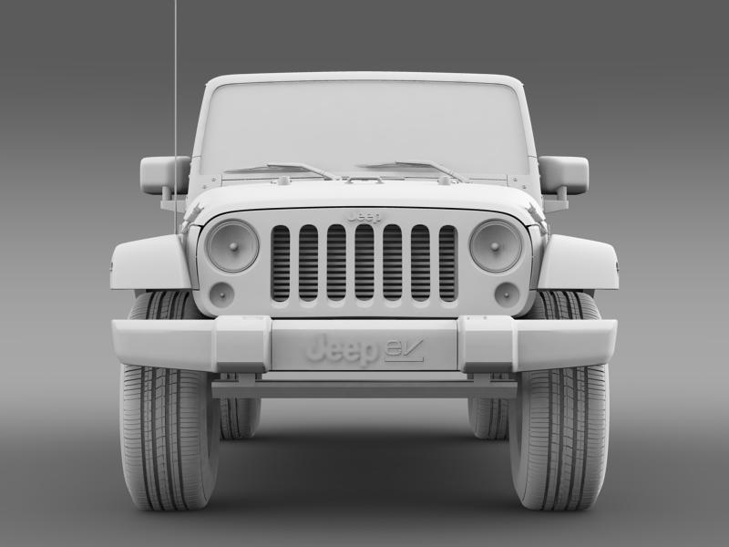 jeep wrangler electric vehicle concept 3d model 3ds max fbx c4d lwo ma mb hrc xsi obj 160167