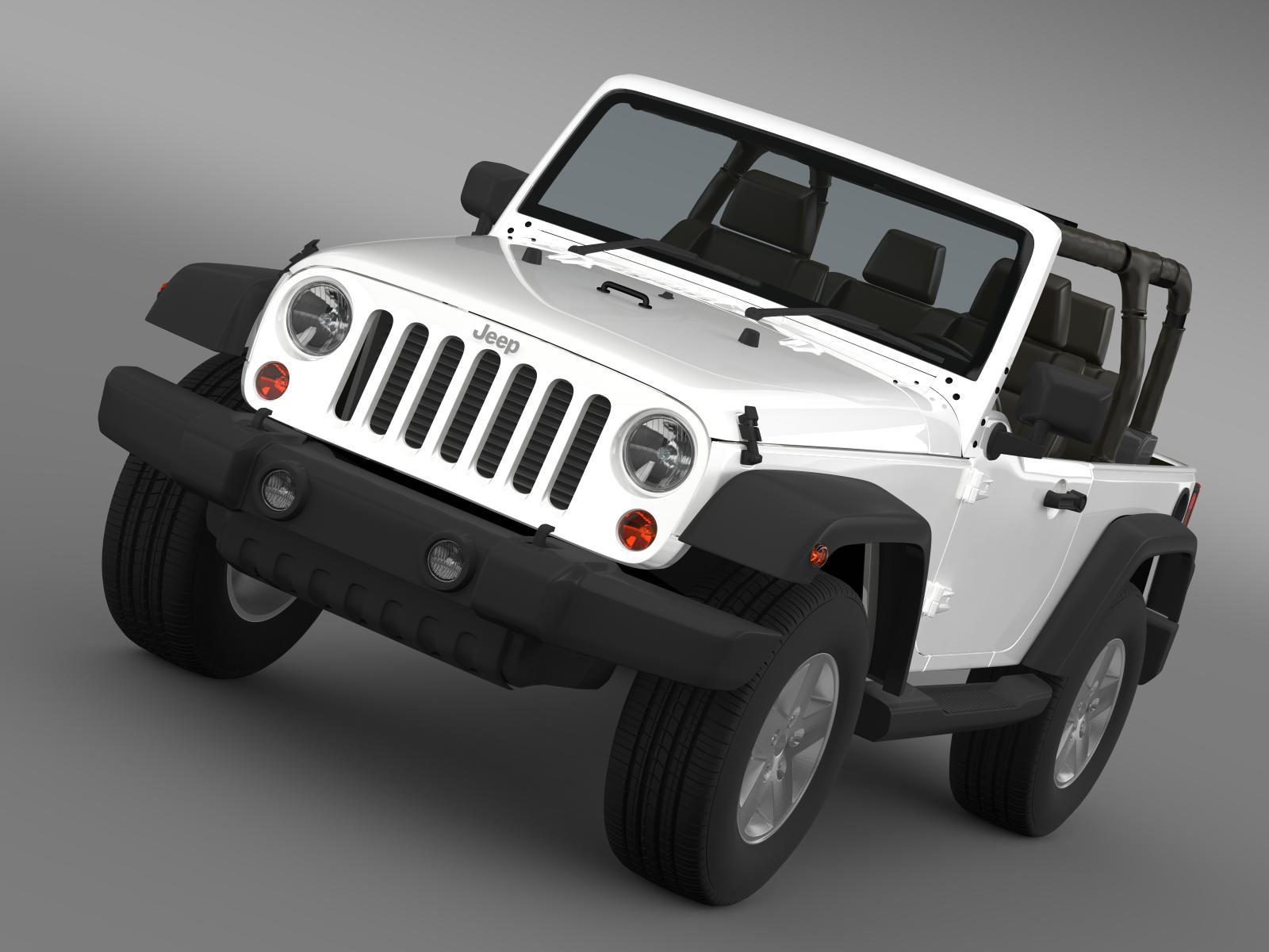 jeep wrangler islander edition 2010 3d model 3ds max fbx c4d lwo ma mb hrc xsi obj 162479