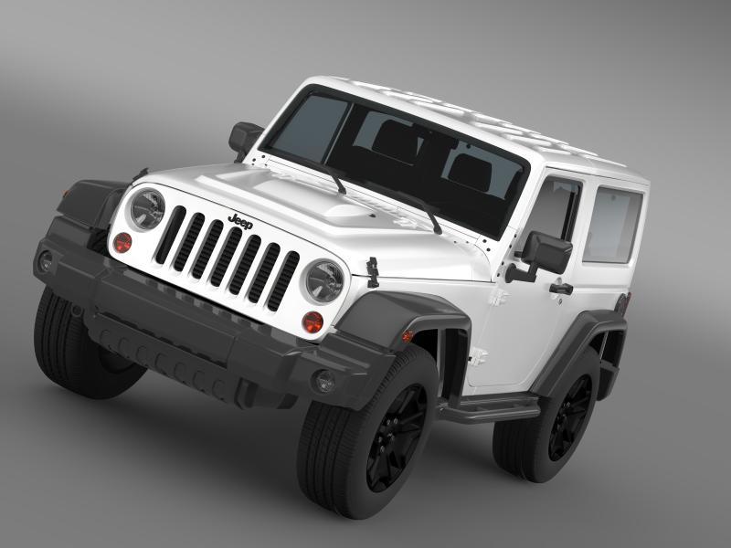 jeep wrangler moab 2012 3d model 3ds fbx c4d lwo ma mb hrc xsi obj 160494