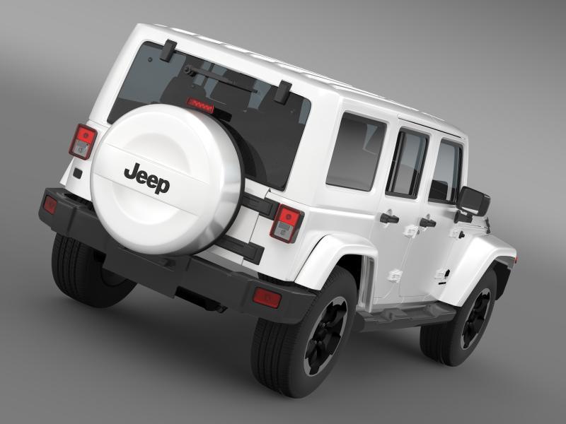 jeep wrangler polar 2014 3d model 3ds max fbx c4d lwo ma mb hrc xsi obj 160322