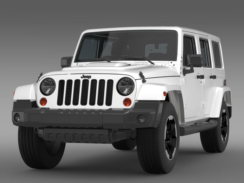 jeep wrangler polar 2014 3d model 3ds max fbx c4d lwo ma mb hrc xsi obj 160323