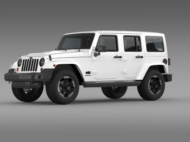 jeep wrangler polar 2014 3d model 3ds max fbx c4d lwo ma mb hrc xsi obj 160325